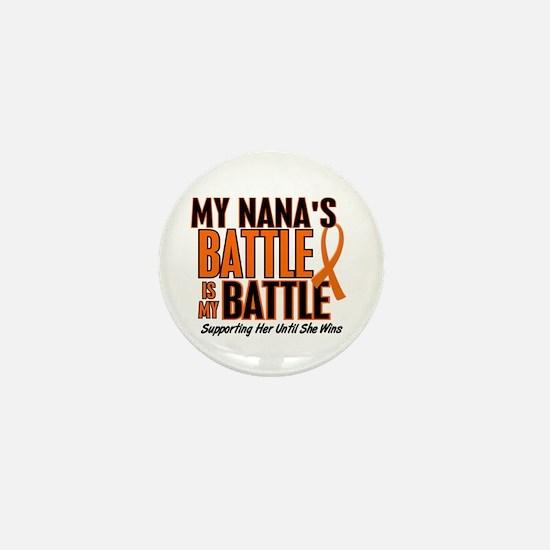 My Battle Too (Nana) Mini Button