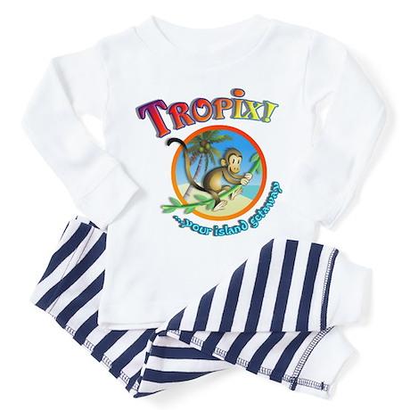 Official Tropix Logo Toddler Pajamas