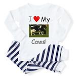 Love My Cows Toddler Pajamas