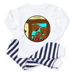 Baby Bear Infant And Toddler Pajamas