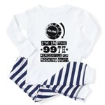 99th Percentile for Rocking Out! Baby Pajamas