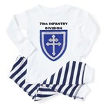 79TH INFANTRY DIVISION Toddler Pajamas