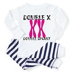Double X, Double Smart Toddler Pajamas