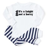 Knight Not A Horsy Chess Toddler Pajamas