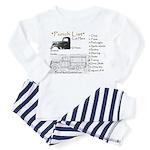 PUNCH LIST Toddler Pajamas