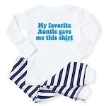 Favorite Auntie Toddler Pajamas