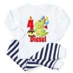 4 Diesel Toddler Pajamas