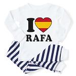 I Love Rafa Nadal Toddler Pajamas
