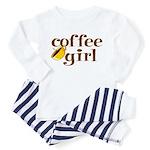 Coffee Girl Toddler Pajamas