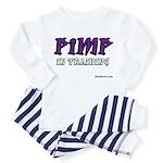 pimp in training Toddler Pajamas