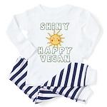 Shiny Happy Vegan Toddler Pajamas