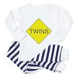 Twins Sign Toddler Pajamas