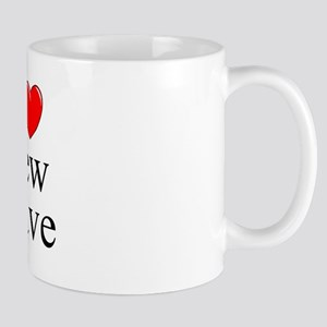 """I Love (Heart) New Wave"" Mug"