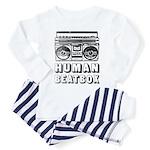 HUMAN BEATBOX - Baby/Toddler Pajamas