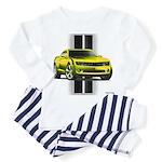 New Camaro Yellow Toddler Pajamas