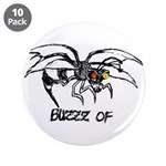 """Buzz of 3.5"""" Button (10 pack)"""