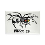 Buzz of Rectangle Magnet (10 pack)