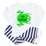 Go Green Frog Ecology Toddler Pajamas