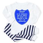 YHVH Is My Shield Toddler Pajamas
