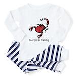 Scorpio in Training (Toddler Pajamas)