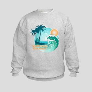 California Dreamin Kids Sweatshirt