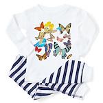 Beautiful Butterflies Toddler Pajamas