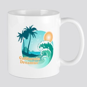 California Dreamin 11 oz Ceramic Mug