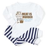 Meat is Murder Toddler Pajamas