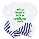 Psalm 139:14 Toddler Pajamas
