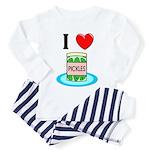 I Love Pickles Toddler Pajamas