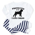 Protected by my Cane Corso Toddler Pajamas