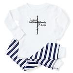 Jesus Rocks Toddler Pajamas