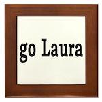 go Laura Framed Tile