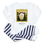 Moona Lisa Toddler Pajamas