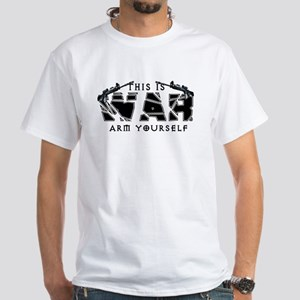 2012 This is War White T-Shirt