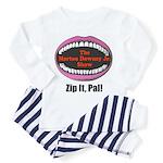 Morton Downey Jr. Zip It Logo Toddler Pajamas