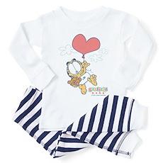 Heart Balloon Toddler Pajamas