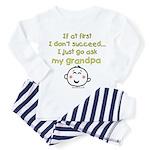 just ask grandpa Toddler Pajamas