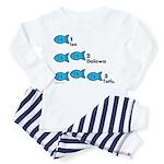 Counting in Tagalog Toddler Pajamas