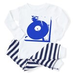 turntable blue Pajamas