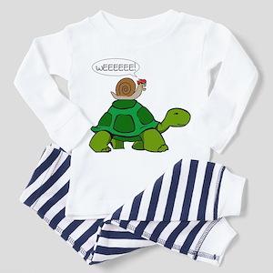 Snail Toddler Pajamas - CafePress a22fb55b8