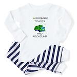 Garbage Truck Shirt For Toddlers Pajamas