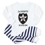 2ND INFANTRY DIVISION Toddler Pajamas