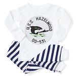 USS HAZELWOOD Toddler Pajamas