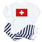 SWISS CROSS FLAG Toddler Pajamas