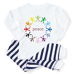 Peace Bebes Toddler Pajamas