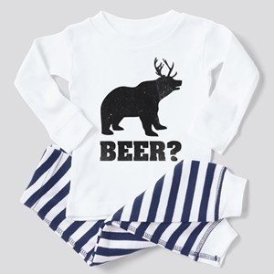 8660691483 Funny Deer Hunting Toddler Pajamas - CafePress