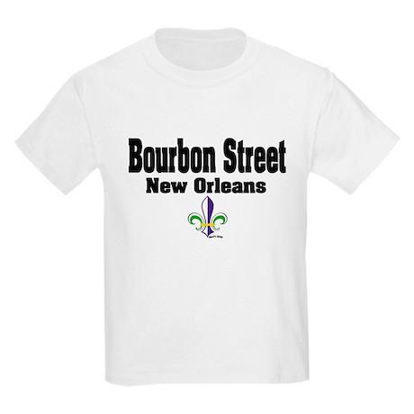 NOLA Bourbon St Kids Light T-Shirt