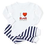 I Love Bali Toddler Pajamas