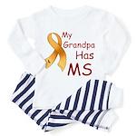 My Grandpa Has MS Toddler Pajamas